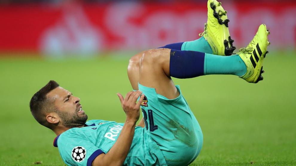 Jordi Alba recayó de sus problemas musculares y será baja esta...