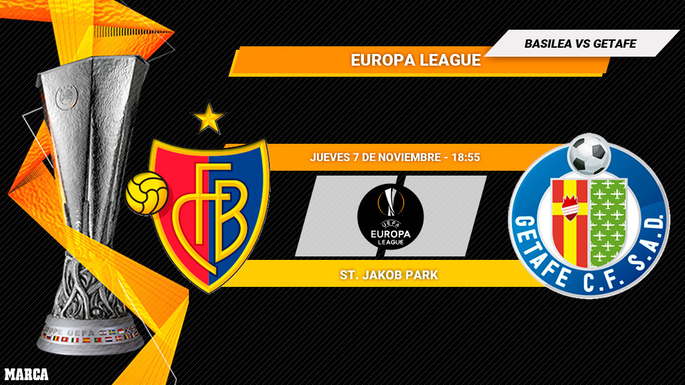 Basilea - Getafe: horario y dónde ver por TV hoy el partido de la...