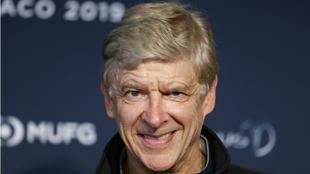 Wenger, durante un reciente acto deportivo