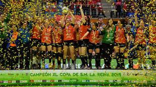 El Bera Bera, campeón de la Copa de la Reina de 2018 /