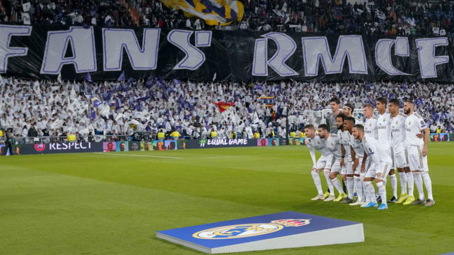 Once del Real Madrid ante el Galatasasaray