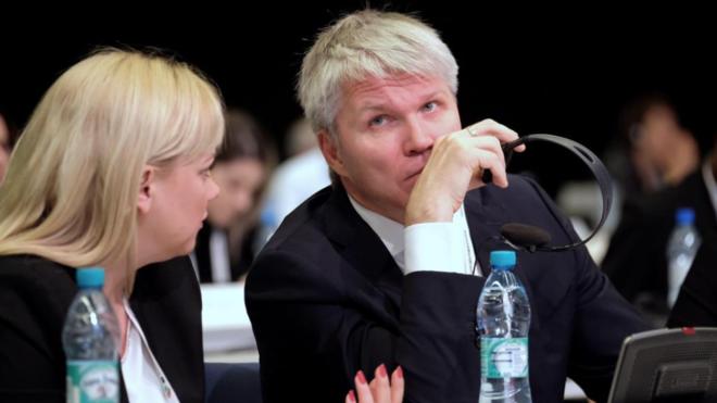 El ministro ruso de Deportes, Pável Kolobkov, en el 'WADA World...