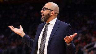 David Fizdale, entrenador de los Knicks