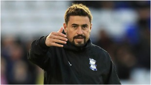 Pep Clotet, entrenador del Birmingham City.