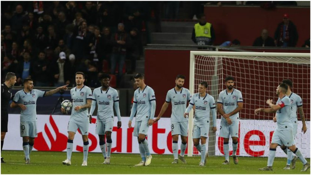 Atletico suffered disappointment against Leverkusen in midweek