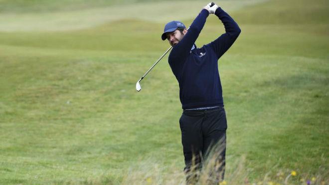 Jorge Campillo en el pasado Open de Irlanda.