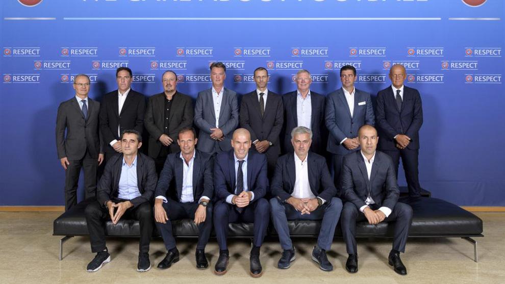 La reunión de entrenadores en 2017