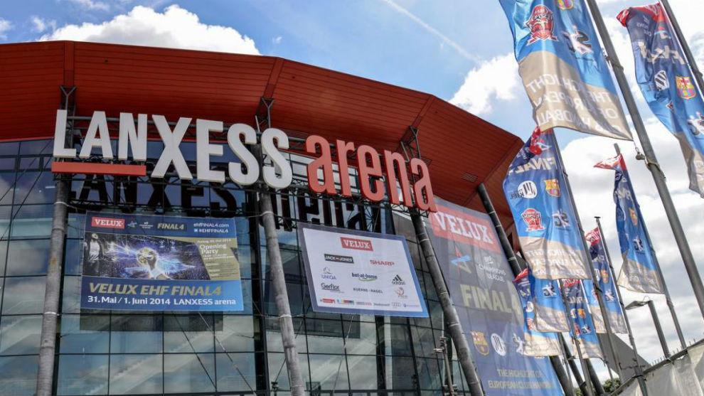 El Lanxess Arena de Colonia.