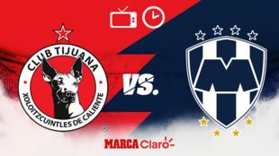 Tijuana vs Monterrey, horario y dónde ver.