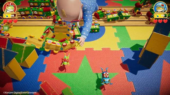 El modo cooperativo llega a 'Frogger in Toy Town'