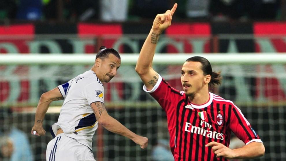 Ibrahimovic en Milan y Los Galaxy