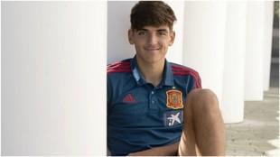 Gonzalo Villar, con la selección