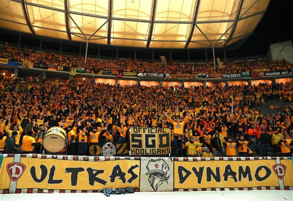 La afición del actual Dynamo Dresden