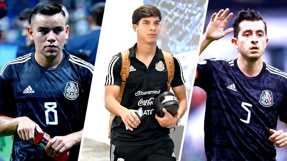 Rodríguez, Lainez y Mozo ya tienen experiencia en la Selección...