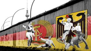 La Caida del muro de Berlin: el fútbol tras el muro