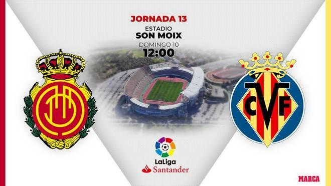 Mallorca - Villarreal: Horario y dónde ver por television el partido...