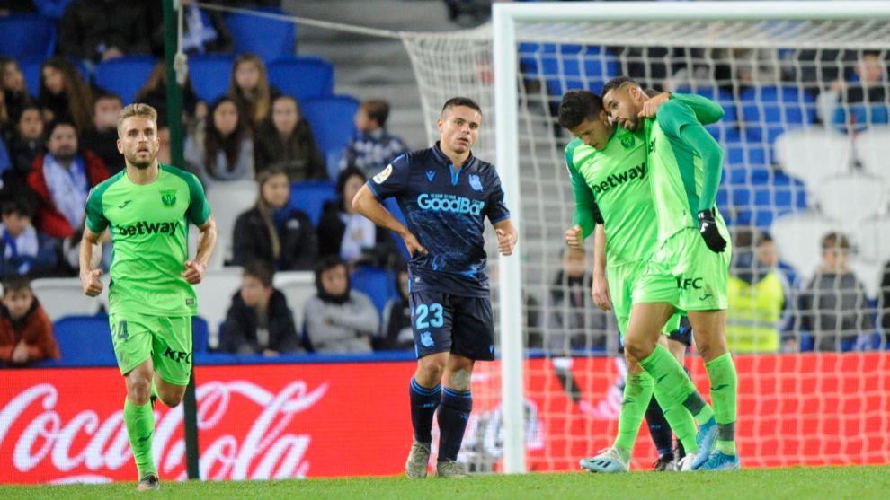 Luca Sangalli se lamenta mientras el Lega celebra el empate.
