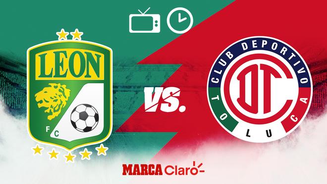 León vs Toluca, horario y dónde ver.