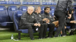 Aguirre se estrenó al frente del Lega en el banquillo de Anoeta.