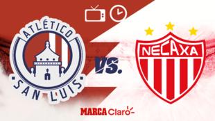 San Luis vs Necaxa, horario y dónde ver.