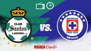 Santos vs Cruz Azul: Horario y dónde ver