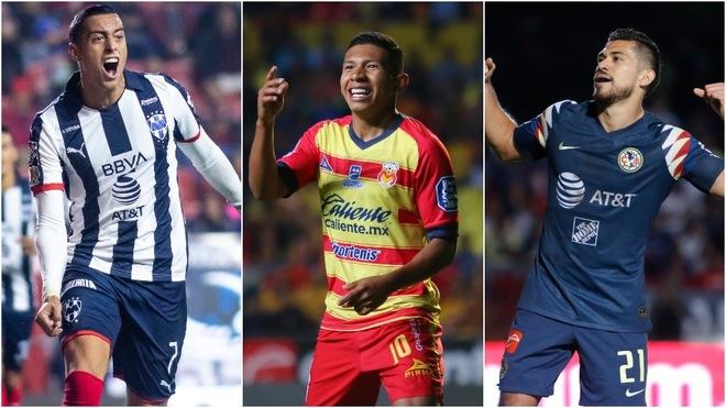 Funes Mori, Edison Flores y Henry Martín