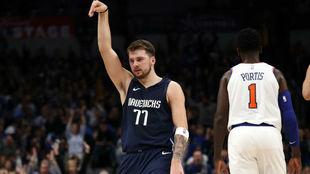 Luka  Doncic cuajó su mejor partido en la NBA