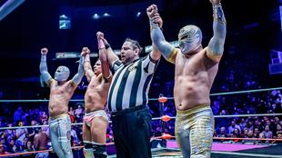 Espectacular triunfo técnico en la Arena México.