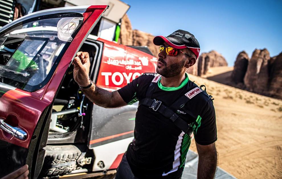 Yazeed A-Rajhi, ganador final de la carrera.