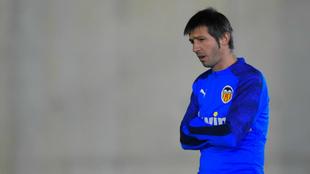 Albert Celades, técnico del Valencia.