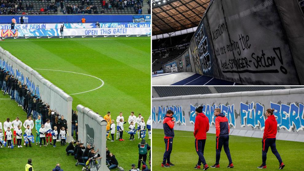 Homenaje en el Olímpico a los 30 años de la caída del muro.
