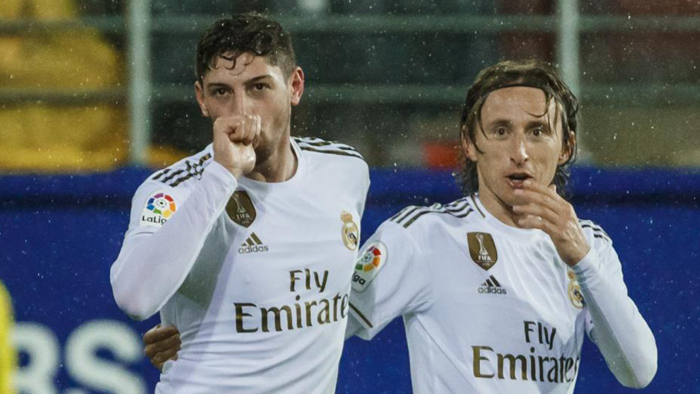 Fede Valverde dedica su gol a su futuro bebé ante la sorpresa de...