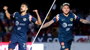 Martín y Castillo se combinaron para dos goles en el partido ante...
