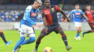 El Napoli empata a cero goles con el Génova.