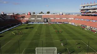 El San Luis vs Necaxa también se jugó sin gente.