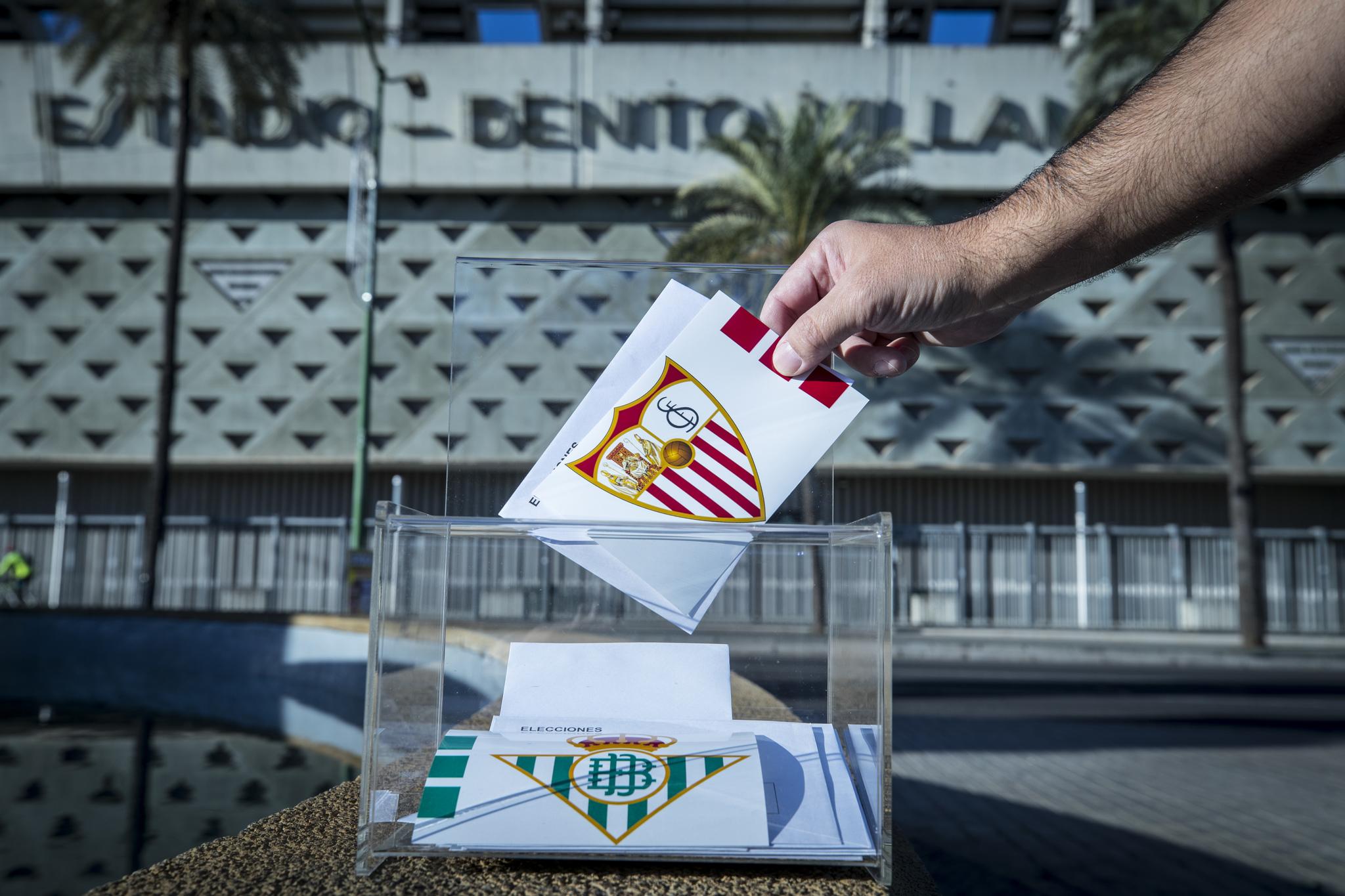Betis y Sevilla, en jornada electoral