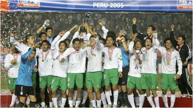 México campeón del Mundial sub 17 en Perú 2005