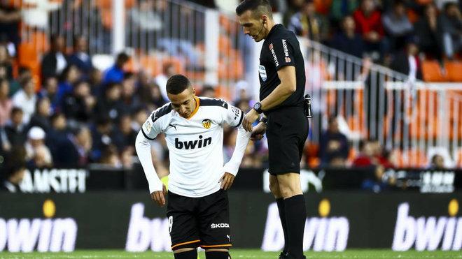 Rodrigo injured on the c