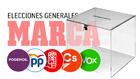 Sigue en directo las elecciones generales en España 2019.