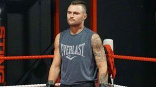 Dwight Ritchie (27) en una sesión de sparring.