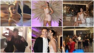 Las imágenes de la celebración fueron difundidas por la esposa de...