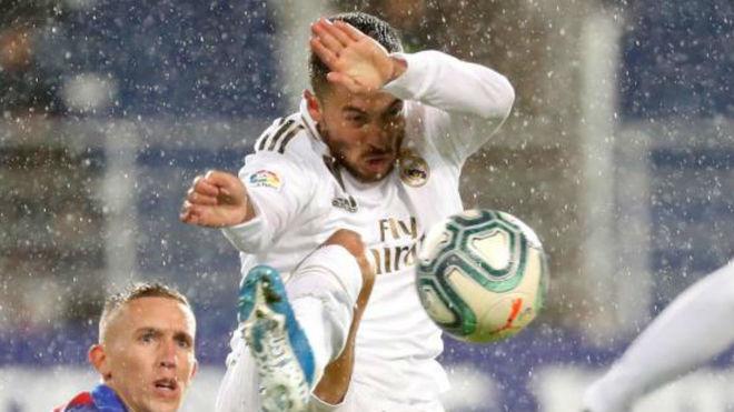 Hazard against Eibar