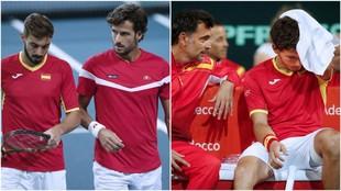 Granollers, Feli, Bruguera y Carreño, en Copa Davis