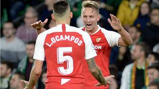 Ocampos (25) y De Jong (29), los goleadores nervionenses del...