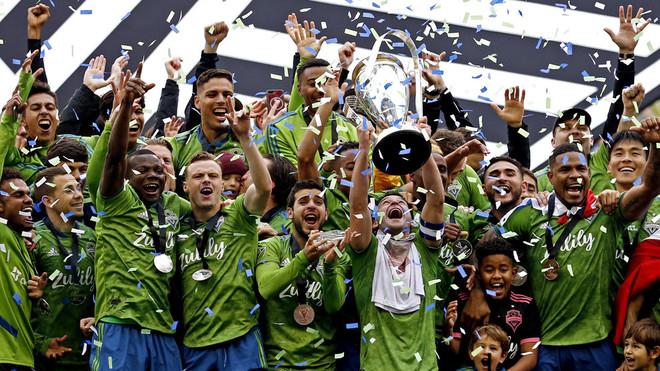 Los Sounders disfrutan de su segundo cetro en la MLS.