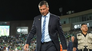 Robert Dante Siboldi, entrenador del Cruz Azul.