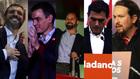 Las reacciones a los resultados de las elecciones generales, en...