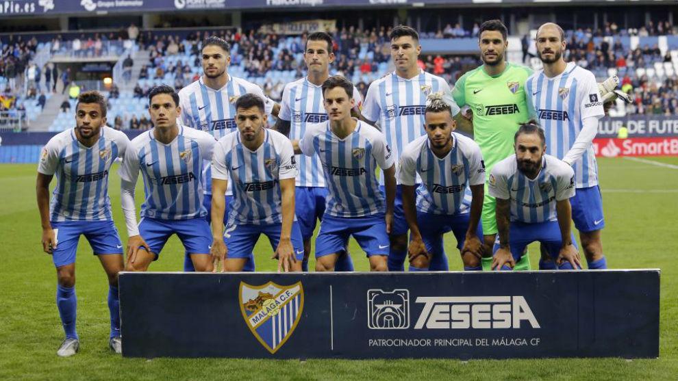 El Málaga se podría presentar en Alcorcón con sólo 9 profesionales - MARCA.com