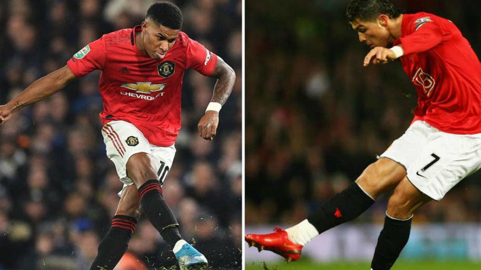 Rashford Registers Better Figures Than Cristiano Ronaldo At Manchester United Marca In English