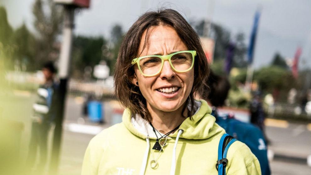 Anna Comet, en el Everest Trail Race.